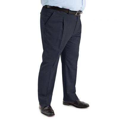 color azul marino - Comprar Pantalon TCH clásico 1 pinza, Fresco Rico Lana verano fabricado españa
