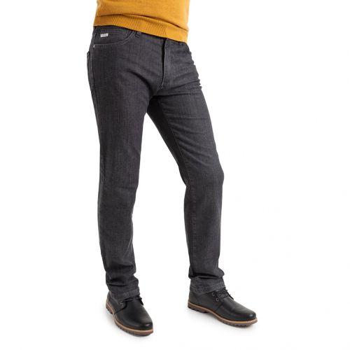 Pantalón vaquero en tejido de color negro - Comprar Pantalon TCH Jeans 5 bolsillos para hombre en vaquero Elástico Negro. Regular Fit para chico