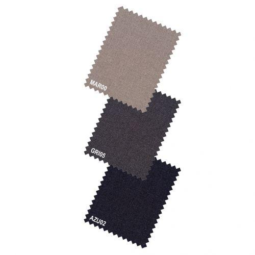 color marrón medio - Comprar Pantalón TCH sin pinzas fabricado en microfibra Lycra en España